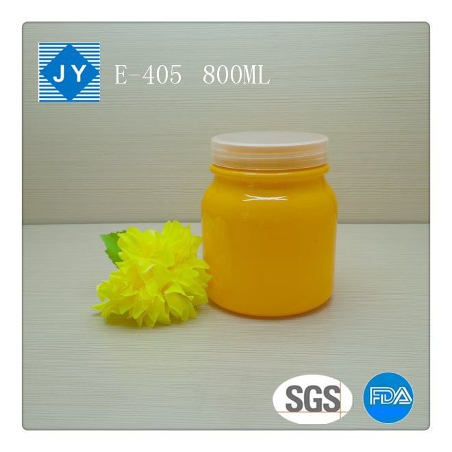 850ml 28oz Large Round Plastic Jars