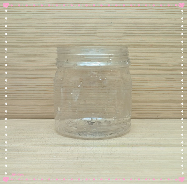 450ml 15oz round Plastic Jar