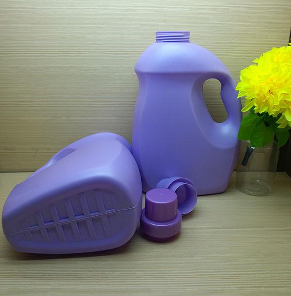 2L HDPE high quality liquid laundry detergent bottle