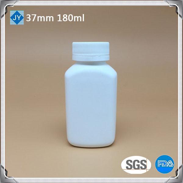 180cc pharmaceutical used bottle 6oz HDPE round plastic bottle for pills