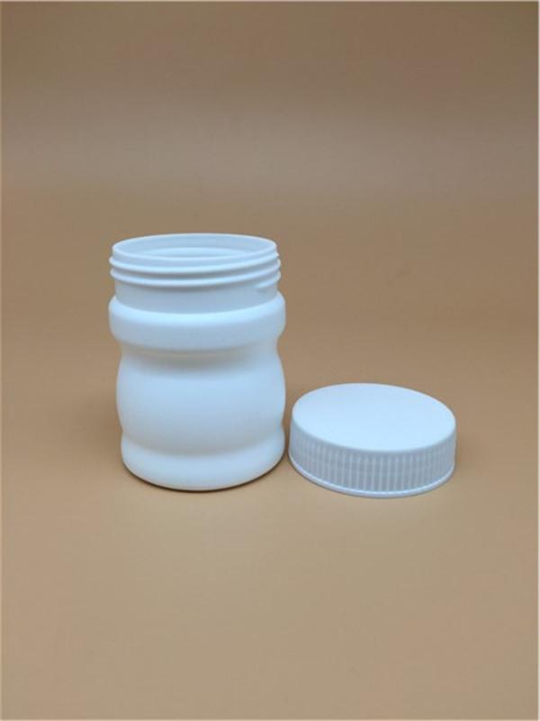 160cc bottle pharmaceutical HDPE round plastic medicine bottel psyllium husk powder