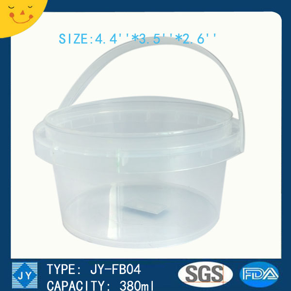 380ml great sealing bucket container