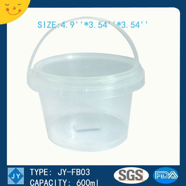 600ml great sealing bucket container