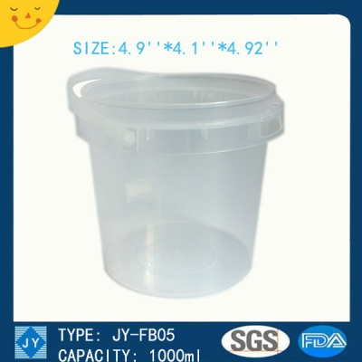 1000ml great sealing bucket container