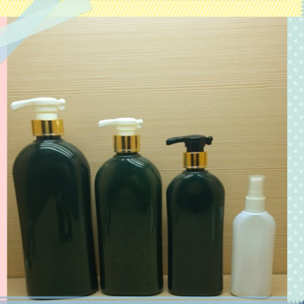 300ml 10oz fashion pet plastic bottle for shampoo, shampoo empty plastic bottles