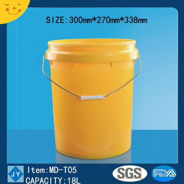 18L Plastic bucket