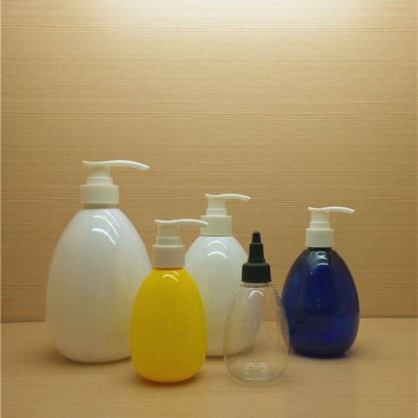 750ml 25oz large colorful egg shaped plastic bottles