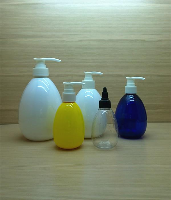 300ml 10oz egg-shaped water drip shape pet plastic bottles