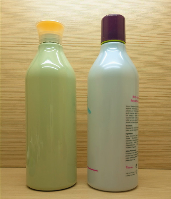 750ml 25oz large round plastic shampoo bottle