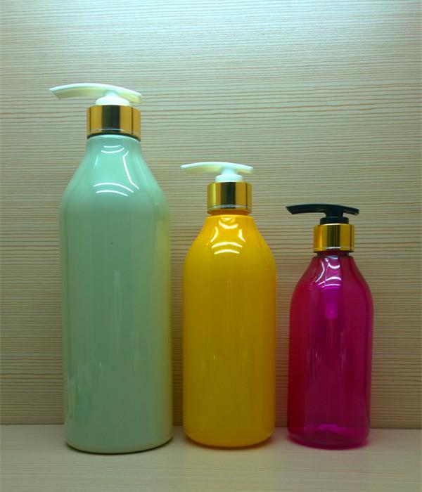 480ml 16oz colorful round plastic bottle