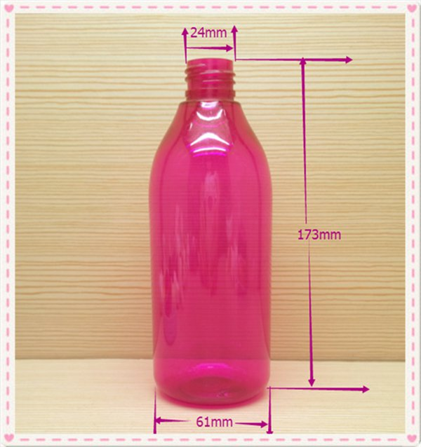 300ml 10oz round colored plastic spray, pump, screw cap bottle