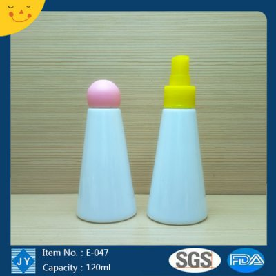 120ml 4oz small plastic colored bottle