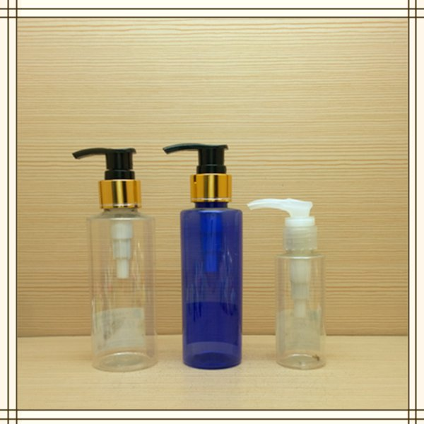 150ml 5oz small new design round plastic bottle