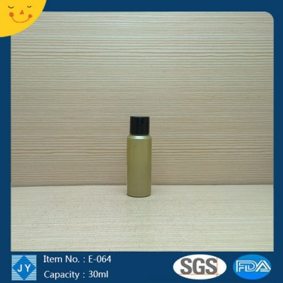 30ml 1oz mini round colored plastic bottle for essential oil