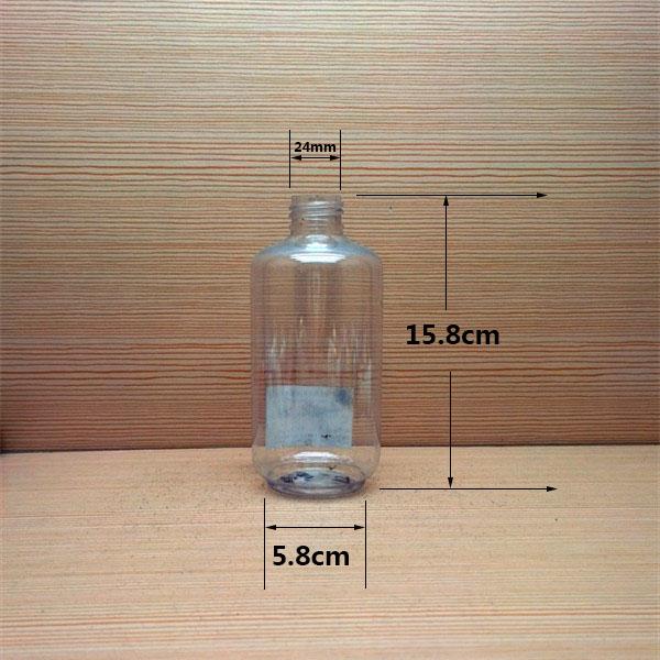 250ml 8oz Pet Plastic Bottles For Beverage Juice Beer Milk
