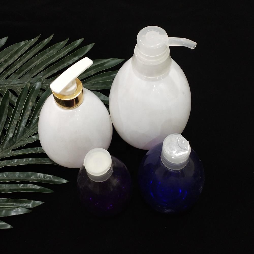 egg-shaped water drip shape pet plastic bottles for hand sanitizer, hair conditioner,gel water, oil