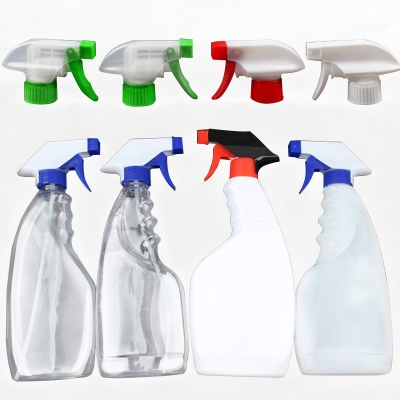 Household Use Steam Empty Trigger Spray Bottle for Window Washing Liquid Car Cleaning Agent Cleanser