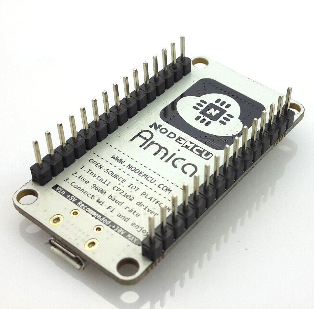 HiLetgo NodeMCU LUA ESP8266 CP2102 ESP-12E Internet Wifi Carte de développement Open Source