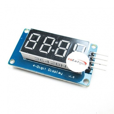 4 Bits Digital Tube LED Segment Display Module