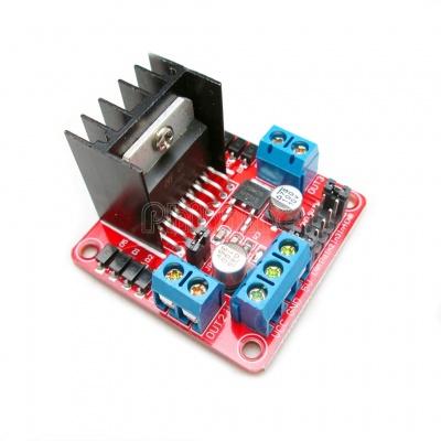 L298N Motor Driver controller Board Module Stepper Motor DC Dual H-Bridge For Arduino