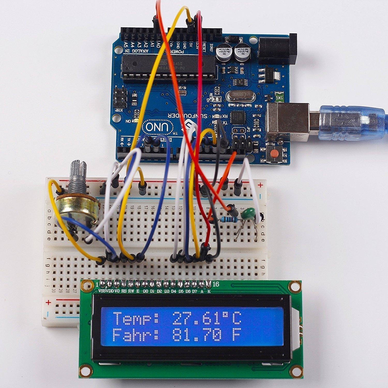 NEW DC 5V HD44780 1602 LCD Display Module 16x2 Character LCM Blue Blacklight