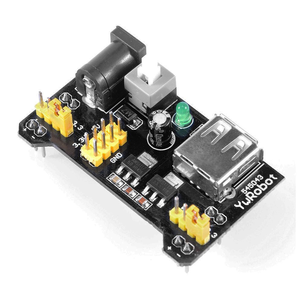Power Supply Module for Prototype Board PCB Universal Breadboard 5V/3.3V Output