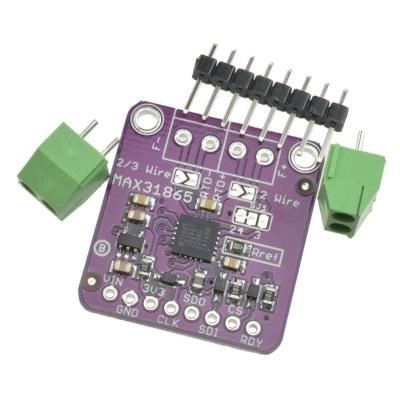 PT100 MAX31865 RTD Temperature Thermocouple Sensor Amplifier Module Arduino