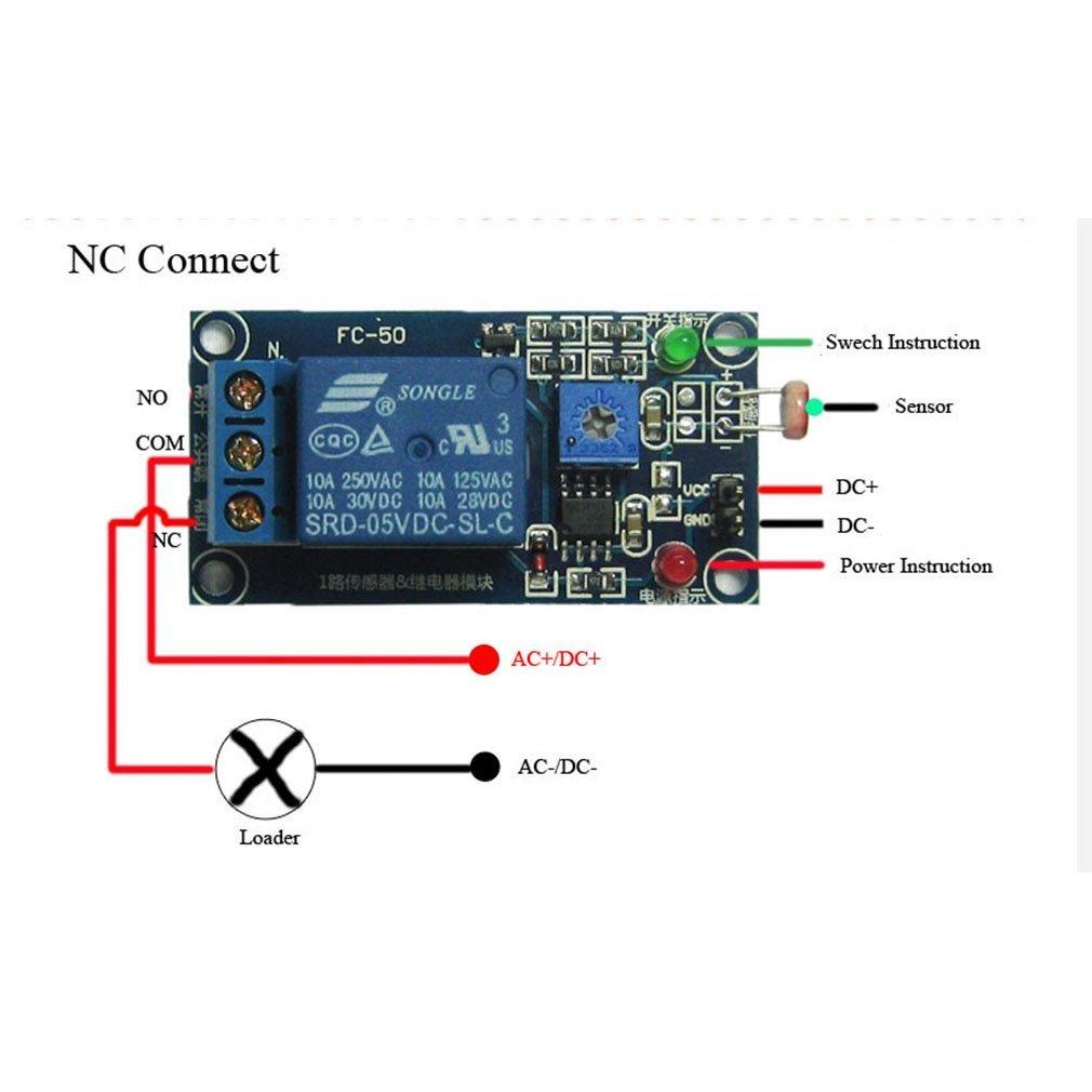 12V Soil Moisture Sensor Controller Module Automatically Watering