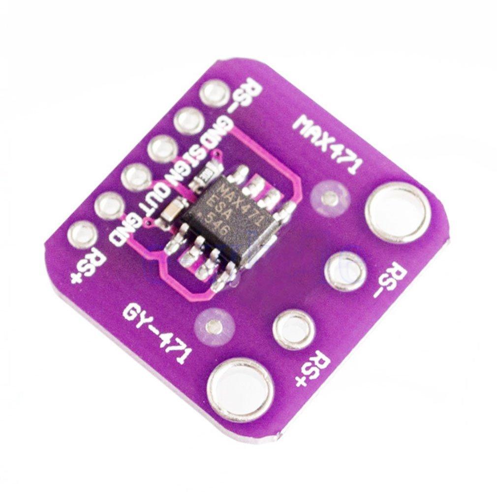 MAX471 3A Current Sensor Module Consume Current Detection Module DC 0-3A