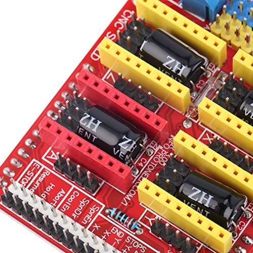 V3 Engraver Shield 3D Printer CNC Expansion Board A4988 Driver Board for Arduino