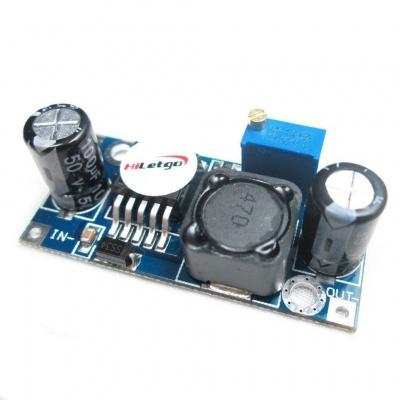 LM2596S-ADJ DC-DC Step Down Voltage Regulator Module 3A Adjustable 5V/12V/24V