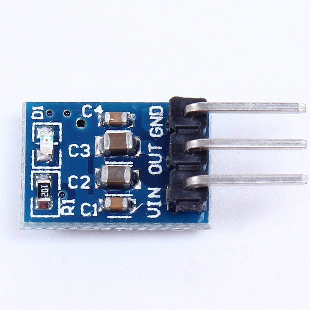 AMS1117-3.3 3.3V DC-DC Step-Down Power Module Buck Module LDO 800MA
