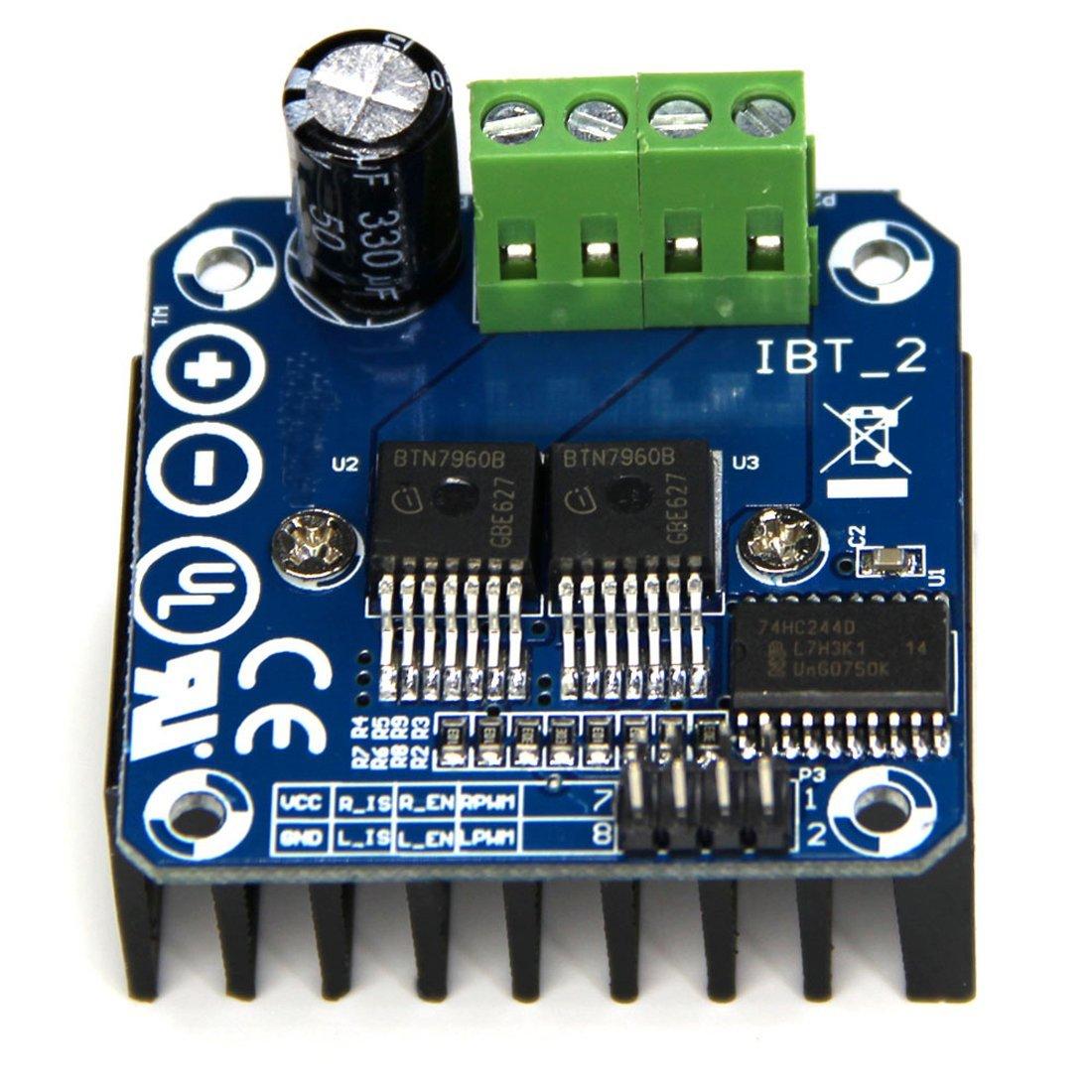 HiLetgo BTS7960 43A High Power Motor Driver Module/ Smart Car Driver Module for Arduino