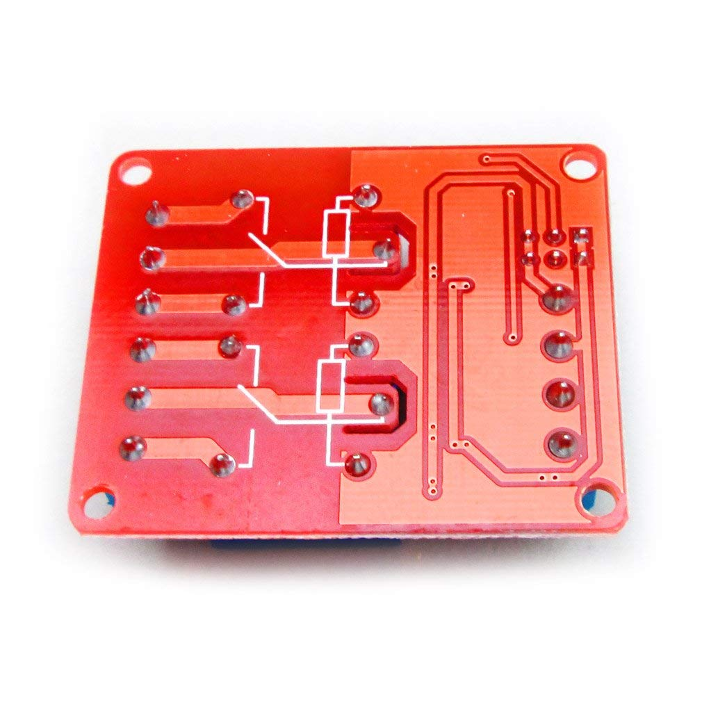 DC 12V 2 Channel Relay Module With Isolated Optocoupler High and Low Level H/L Level Trigger Module