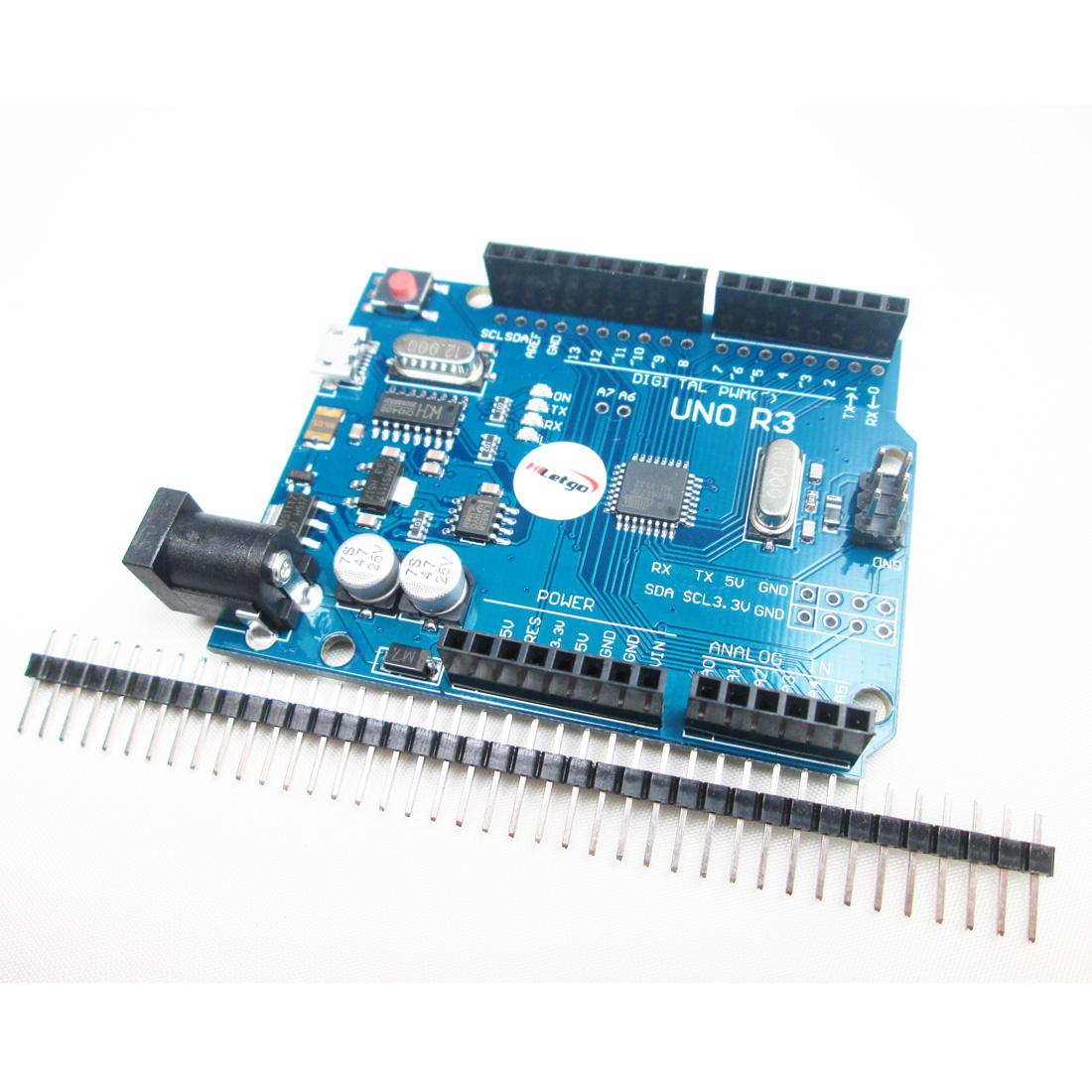 Latest Version UNO R3 ATMEGA328P-16AU CH340G Micro USB Compatible to Arduino