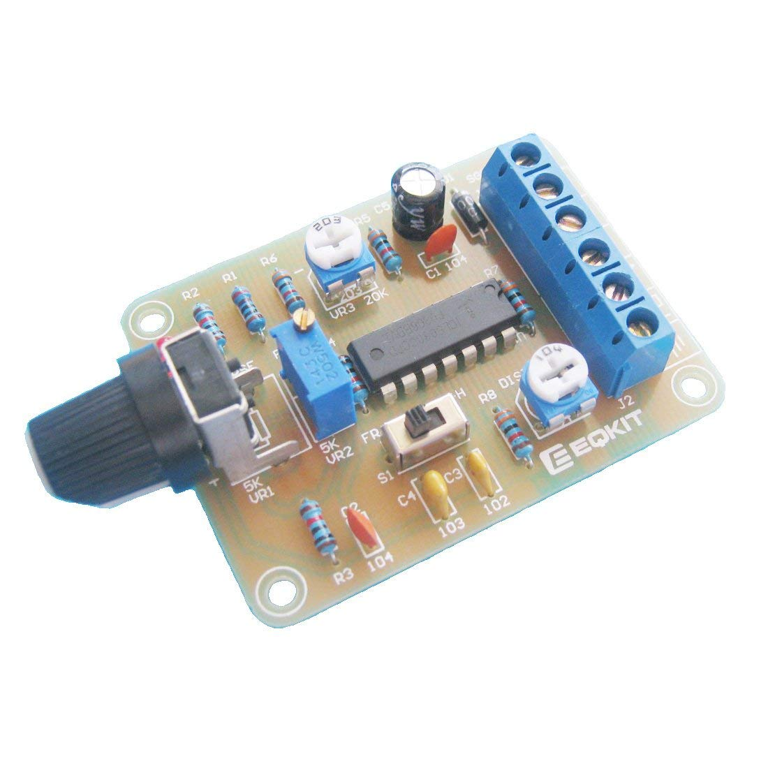 ICL8038 Monolithic Function Signal Generator Module DIY Kit Sine Square Triangle Wave