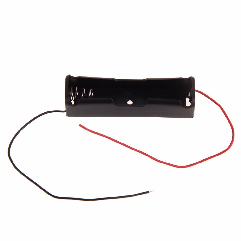 18650 Battery Clip Battery Holder Battery Case for 18650 Battery With Leads