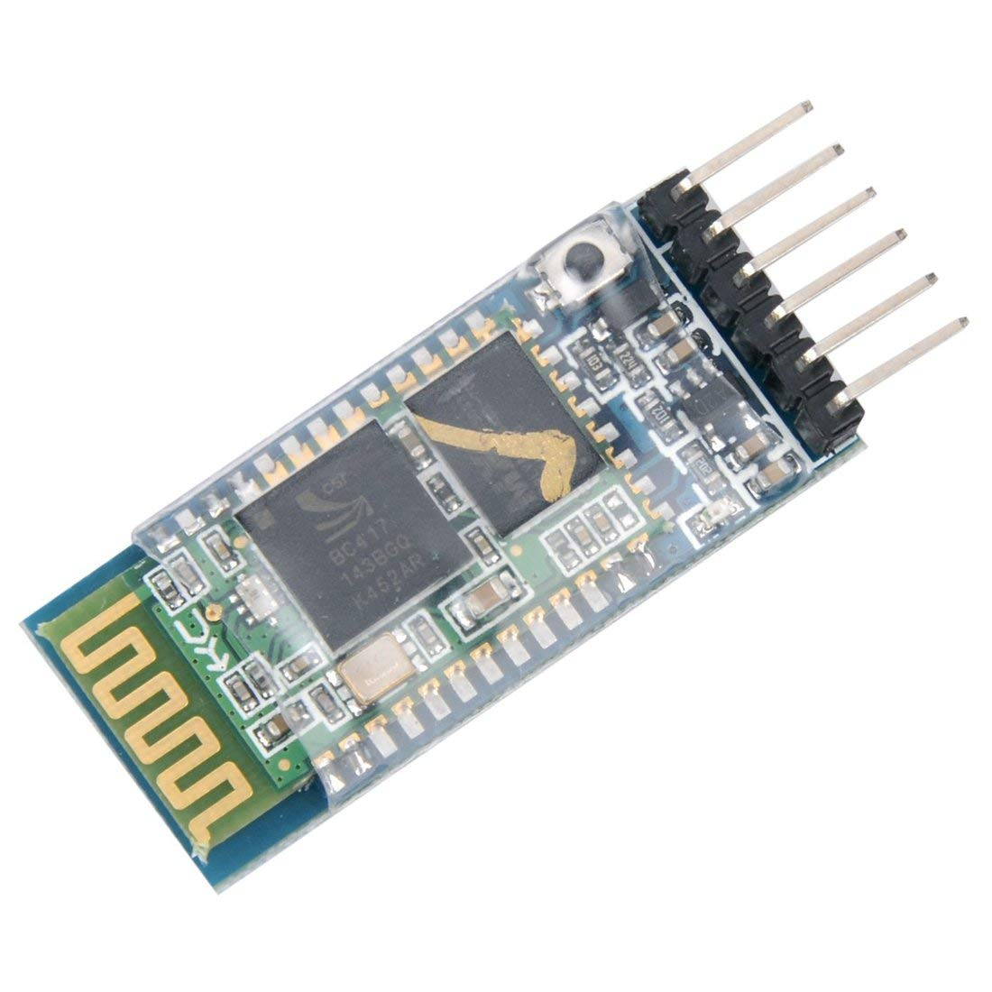 HC-05 6 Pin Wireless Bluetooth RF Transceiver Module Serial BT Module for Arduino