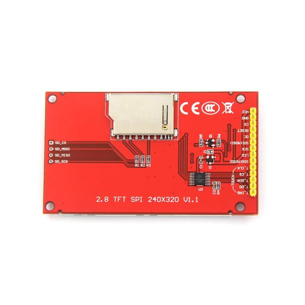 "240X320 Resolution 2.8"" SPI TFT LCD Display Touch Panel ILI9341 with PCB 5V/3.3V STM32"