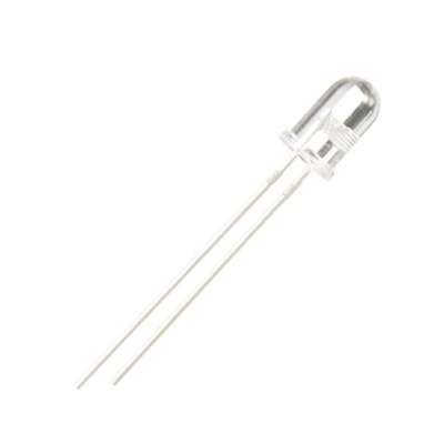 Clear 5mm Head Photodiode Photosensitive Light Sensitive Diodes
