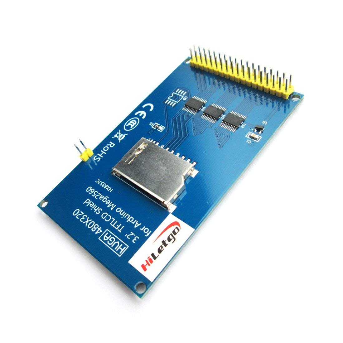 "3.2"" IPS TFT LCD Display ILI9486 480X320 36 Pins for Arduino Mega2560"