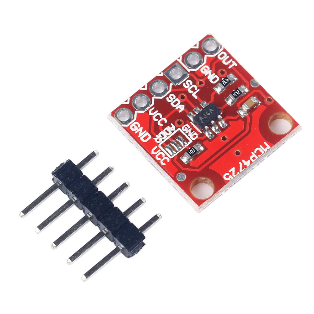 MCP4725 12 Bit 2.7V-5.5V I2C DAC Module Development Board for Arduino