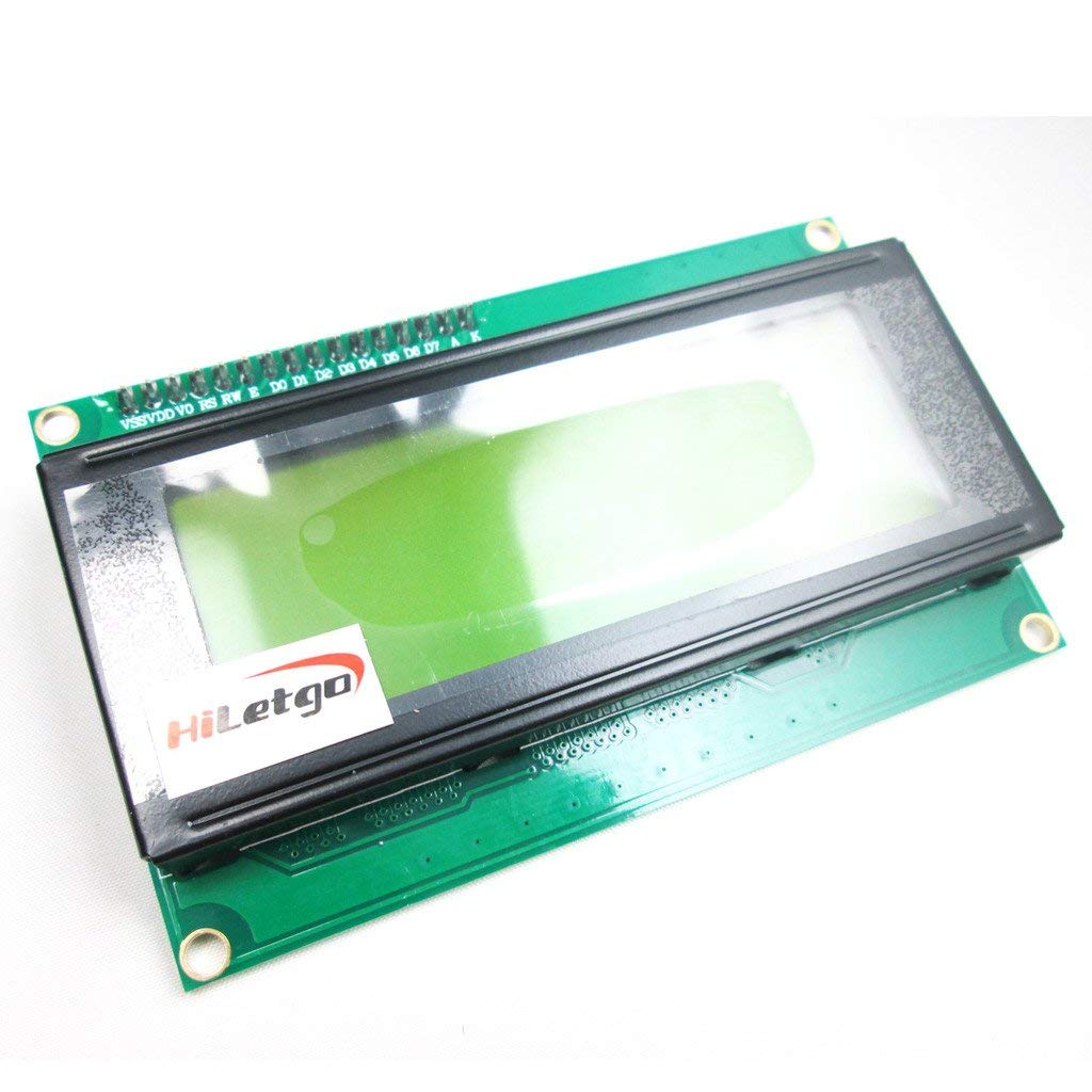 IIC/I2C/TWI 2004 20X4 Serial Yellow Green Backlight LCD Display Module for Arduino UNO R3 MEGA2560