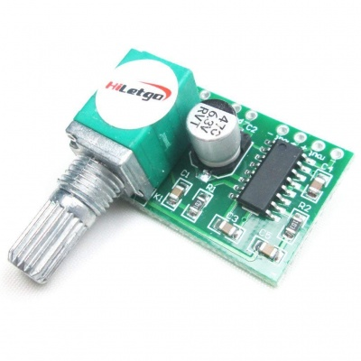 PAM8403 Super Mini 5V 3W*2 Digital Amplifier Board USB Powered Volume Control