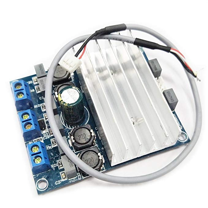 TDA7492 D Class High Power Digital Amplifier Board AMP Board 250W with Radiator