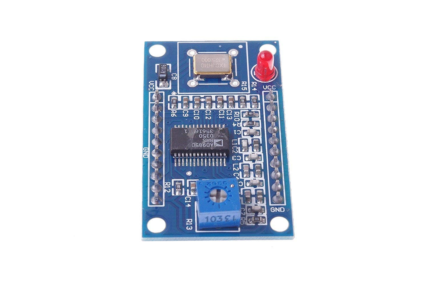 DDS AD9850 Signal Generator Module 0-40MHz Sine Wave and 2 Square Wave Output IC Test Equipment