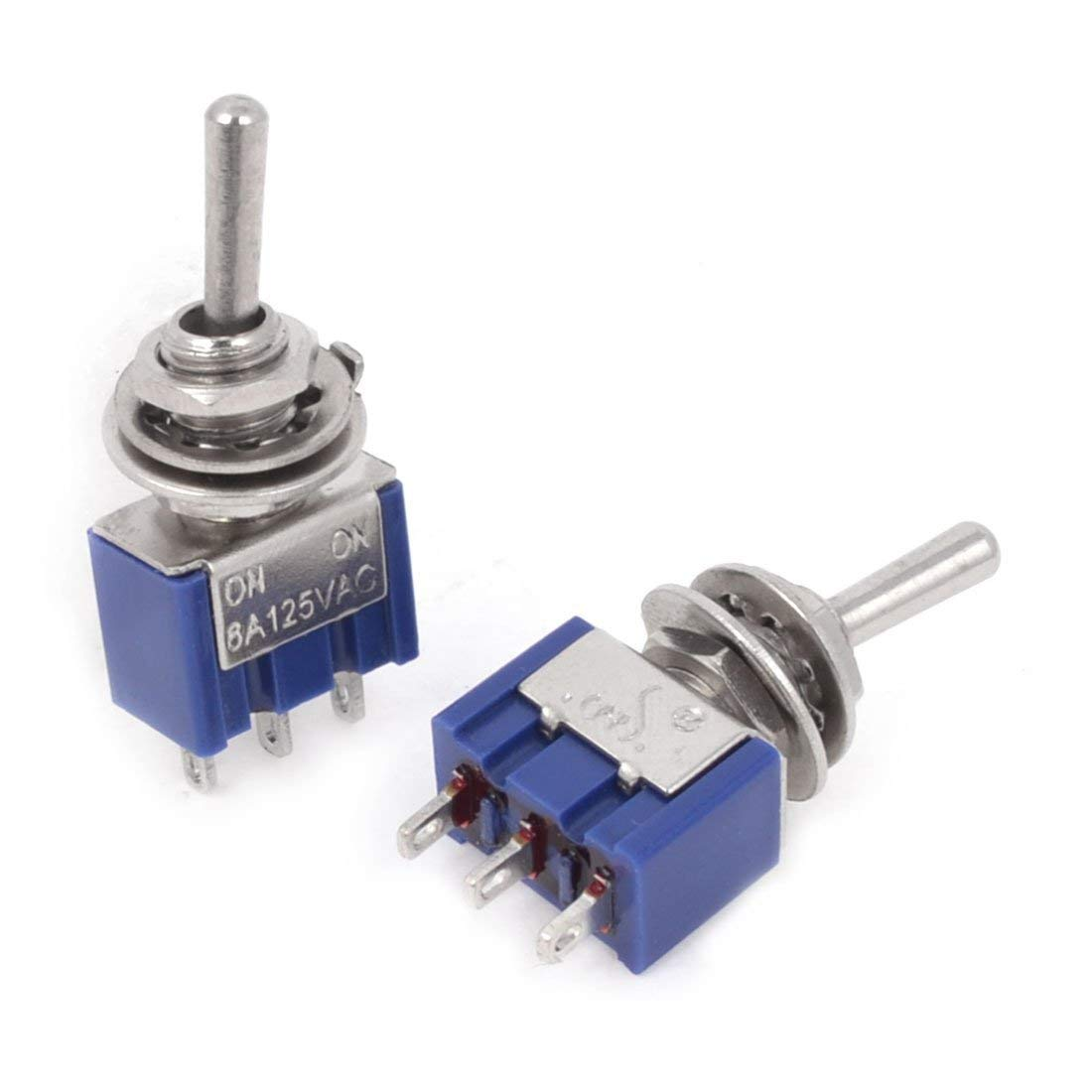 AC125V 6A ON/ON SPDT 3 Terminals 2 Position Toggle Switch MTS102