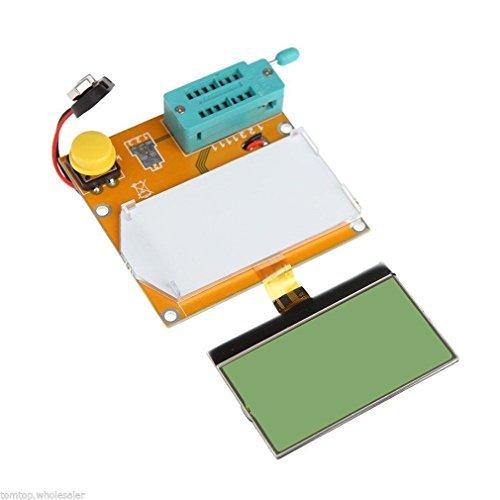 Mega328 LCR-T4 Transistor Tester Diode Triode Capacitance LCR ESR Meter Module MOS PNP/NPN M328