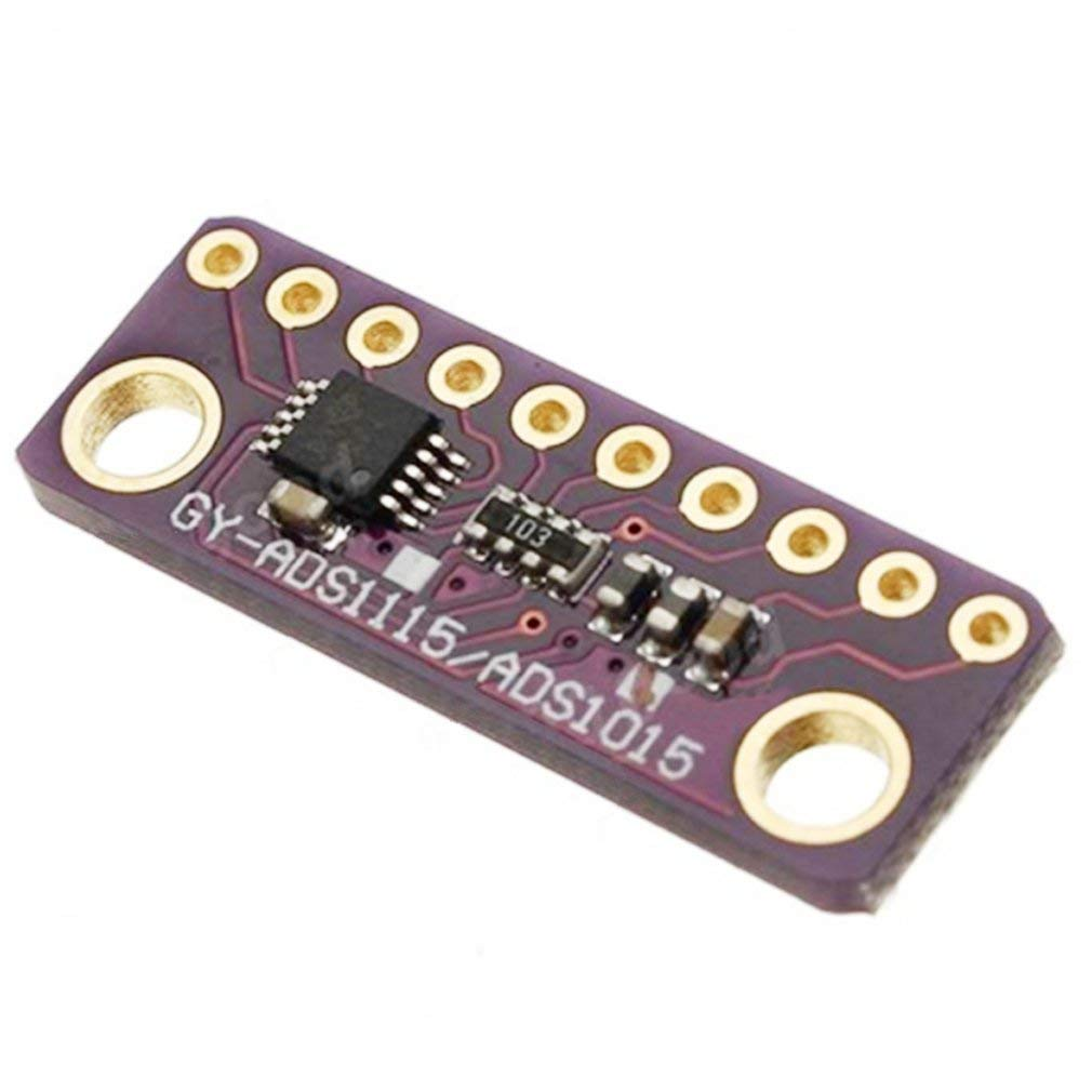 ADS1015 12 bit precision analog-to-digital converter ADC module development board