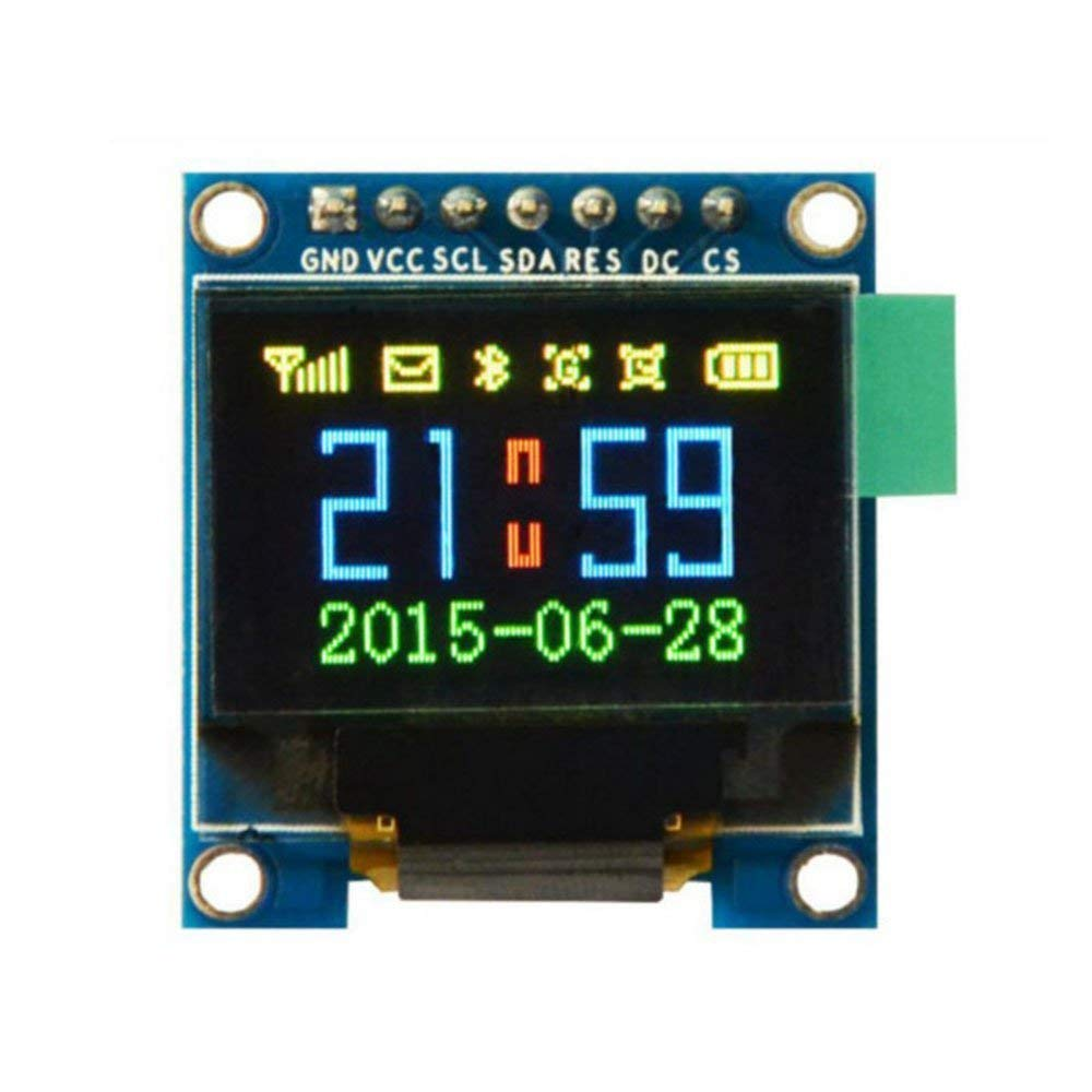 """0.95"""" Inch 7 Pin Colorful 65K SPI OLED Display Module SSD1331 9664 Resolution For 51 STM32 Arduino"""